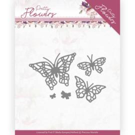 Dies - Precious Marieke - Pretty Flowers - Pretty Butterflies  PM10193