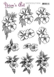 3D Cutting Sheet - Yvon's Art - Condolence  CD11546