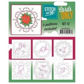Stitch & Do - Cards only - Set 12
