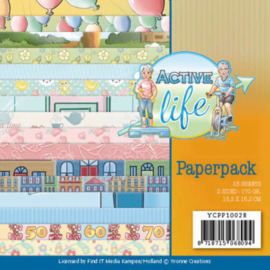 Paperpack - Yvonne Creations - Active Life  YCPP10028