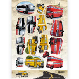 3D Knipvel - Amy Design - Daily Transport - By Bus  CD11035