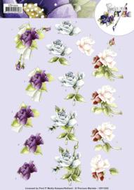 3D knipvel - Precious Marieke -  Roses  CD11222