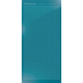 Hobbydots sticker Sparkles 01 Mirror Turquoise  HSPM01D