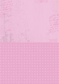 NEVA009 background sheets A4 pink stripes