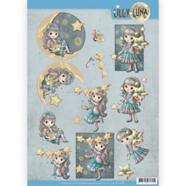 3D Knipvel - Lilly Luna - Straal als een ster  CD11430