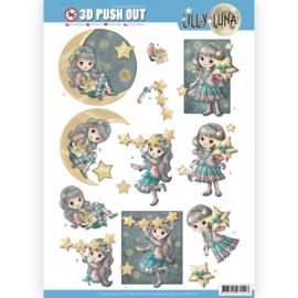3D uitdrukvel - Lilly Luna - Straal als een ster  SB10421