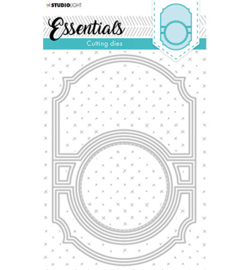 STENCILSL370 - Studio Light - Cutting & Embossing Die - Essentials  140x210mm
