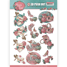 3D Pushout - Yvonne Creations - Flowers with a Twist - Flowers with a Twist   SB10339