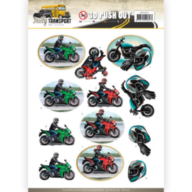 Pushout - Amy Design - Daily Transport - Motor Cycling   SB10233