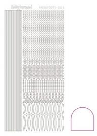 Hobbydots sticker - Adhesive - White  nr.3