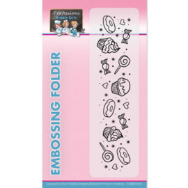 Embossingfolder - Yvonne Creations - Bubbly Girls - Professions  YCEMB10010