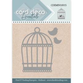 Card Deco Essentials - Mini Dies - Birdcage  CDEMIN10015