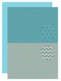 Background sheet - Men-things - Zigzag neva090
