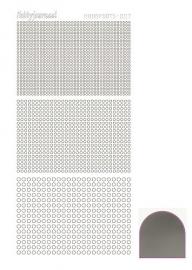 Hobbydots sticker serie 7 - Mirror - Silver