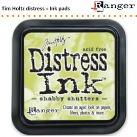 Tim Holtz distress ink pad shabby shutters 21490