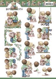 3D Cutting Sheet - Yvonne Creations - Love  CD11683