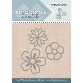 Card Deco Essentials - Mini Dies - Flowers  CDEMIN10009