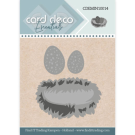 Card Deco Essentials - Mini Dies - Bird's Nest  CDEMIN10014