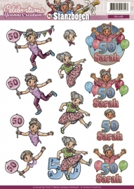 SB10088 3D Pushout - Yvonne Creations - Celebrations