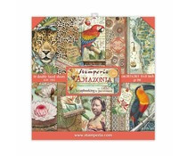 Stamperia Amazonia 8x8 Inch Paper Pack (SBBS28)