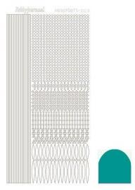 STDM03I Hobbydots sticker - Mirror Emerald
