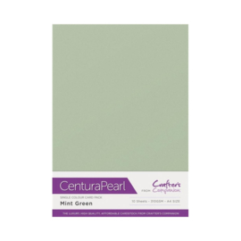 Centura Pearl enkelzijdig 1 Vel - Mint CP10-MINT