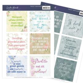 Tekst Designs - Jeanine's Art - Sensitive Moments (NL)  JATD1001