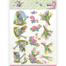 3D Knipvel - Amy Design - Spring is Here - Tulips  CD11277