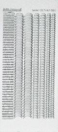 SDS003TZ Shiny Details - Scallop - Zilver