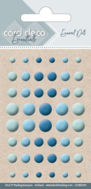 Card Deco Essentials - Enamel Dots Blue  CDEED009