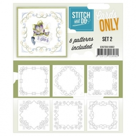 Stitch & Do - Cards only - set 2
