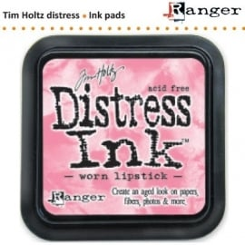 Tim Holtz distress ink pad worn lipstick 21513