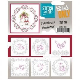 Stitch & Do - Cards only - set 10