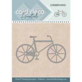 Card Deco Essentials - Mini Dies - Bike CDEMIN10002   Formaat ca. 5,2 x 2,9 cm