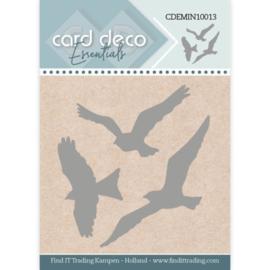 Card Deco Essentials - Mini Dies - Birds  CDEMIN10013