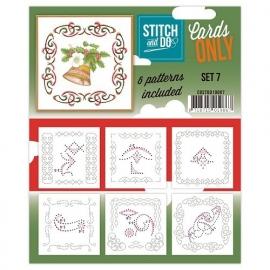 Stitch & Do - Cards only - set 7