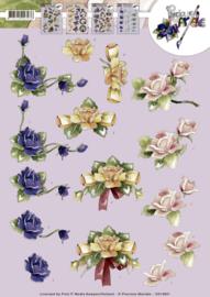 3D Knipvel - Precious Marieke - Roses  CD10831