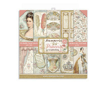 Stamperia Princess 8x8 Inch Paper Pack (SBBS18)