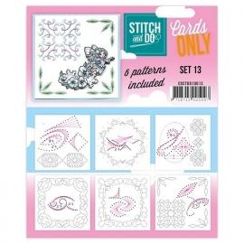 Stitch & Do - Cards only - Set 13