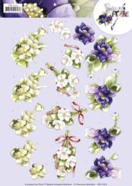 3D knipvel - Precious Marieke - Anemone  CD11213