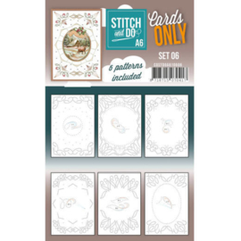 Cards Only Stitch A6 - 006