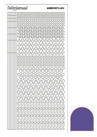 Hobbydots sticker - Mirror - Violet STDM136