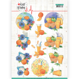 3D Cutting sheet - Jeanine's Art - Well Wishes - Pills and Vitamins   CD11462