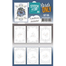 Cards Only Stitch A6 - 005