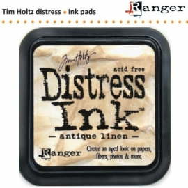 Tim Holtz distress ink pad antique linen 19497