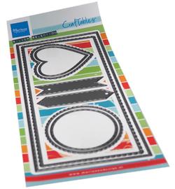 CR1538 - Slim line banners 8 pcs, 98.5 x 210 mm