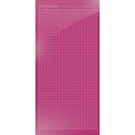 Hobbydots sticker Sparkles 01 Mirror Pink   HSPM01F
