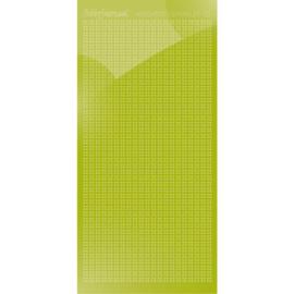 Hobbydots sticker Sparkles 01 Mirror Leaf Green   HSPM01N