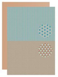 Background sheet - Men-things - Flowers neva 088