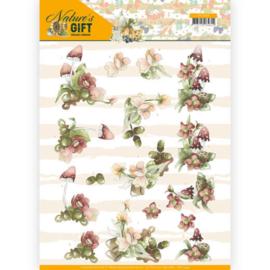 3D knipvel - Precious Marieke - Nature's Gift - Red Gift  CD11349